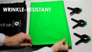 6 x 9 ft green screen backdrop or backgrounds chromakey