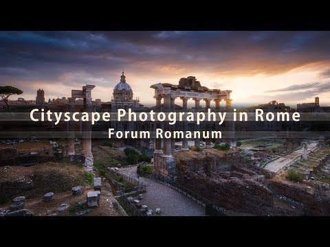 Cityscape Photography in Rome - photographing the Forum Romanum