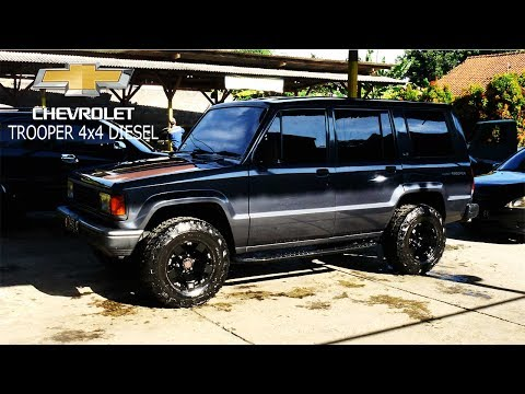 Isuzu Chevrolet Trooper 91 Diesel 4x4 Owner By Andri Indrajaya