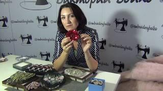 Уроки вышивки  Люневильский крючок