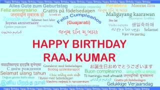 Raaj Kumar   Languages Idiomas - Happy Birthday