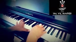 BEŞİKTAŞ 114.yıl marşı piyano cover(BİROL CAN)piyano ile çalınan şarkılar