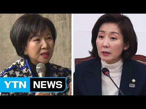 """""""나경원 경고한다"""" 손혜원 의원이 올린 글  / YTN"""