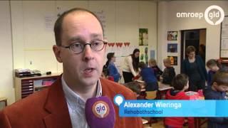 School Ochten vult 200 schoenendozen