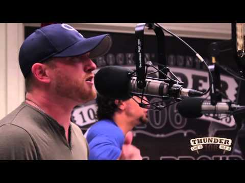 Cole Swindell performs 'Hope You Get Lonely Tonight' Live at Thunder 106