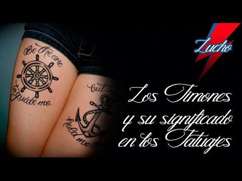 Los Timones Y Su Significado En Los Tatuajes Youtube