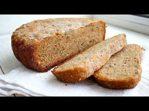 Бездрожжевой цельнозерновой хлеб в мультиварке