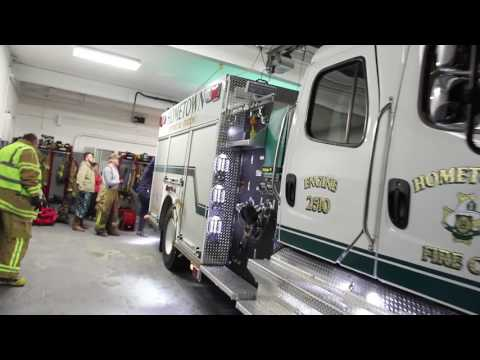 After A Fire, Hometown Fire Company, Hometown, 2-1-2017, TamaquaArea.com