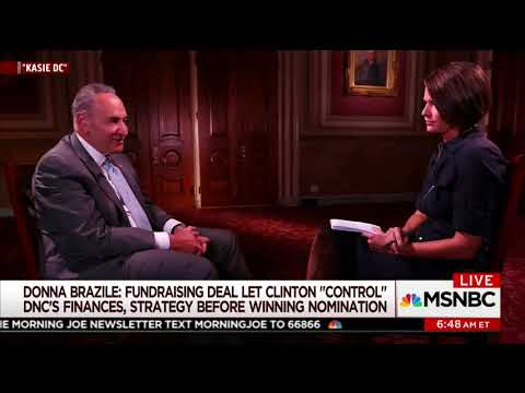 """Chuck Schumer Feigns Ignorance of DNC Pro-Hillary Rigging: """"I Didn't Follow"""" the 2016 Primary"""