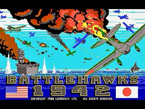Battlehawks 1942 (PC/DOS) 1988, Lucasfilm Games LLC