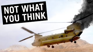 What if One Engine Fails on the Chinook? #shorts