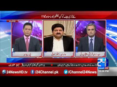 Hamid Mir amazing comments on Pakistan army