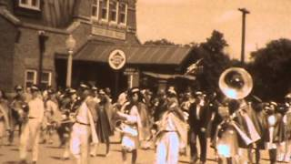 8mm home movies: Farm; Parade, Thief River Falls, MN, apparently during WWII