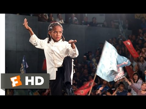 The Karate Kid (2010) - Dre's Victory Scene (10/10) | Moviec
