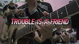 Download Mp3 Lenka - Trouble Is A Friend | Gitar Cover