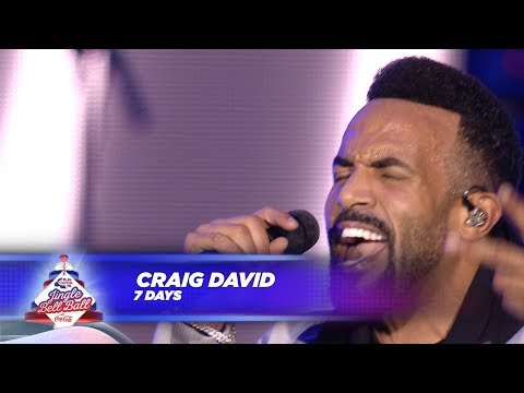 Craig David - '7 Days' - (Live At Capital's Jingle Bell Ball 2017)