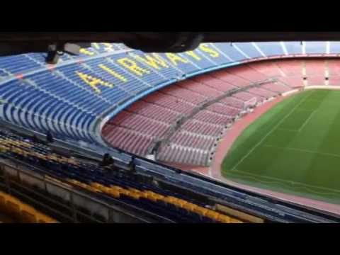 Camp nou Barcelona stadium