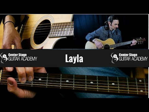 How To Play Layla by Eric Clapton on Guitar