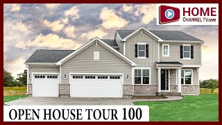 Open House Tour 100 - Custom Home Design in Lake Geneva, WI - by US Shelter Homes