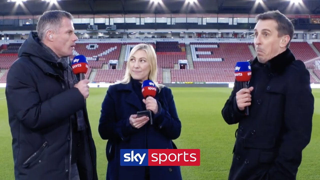 Download Jamie Carragher & Gary Neville ARGUE over which city is better! 😡   Liverpool vs Manchester