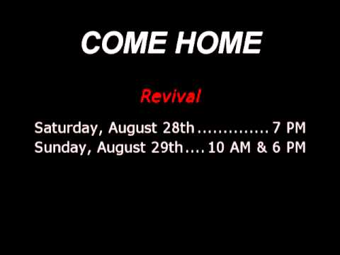Come Home Revival