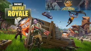 Fortnite: Squad con IPotatoFriends + Followers! Giveaway durante la Live! PC-ITA 1080p 60FPS