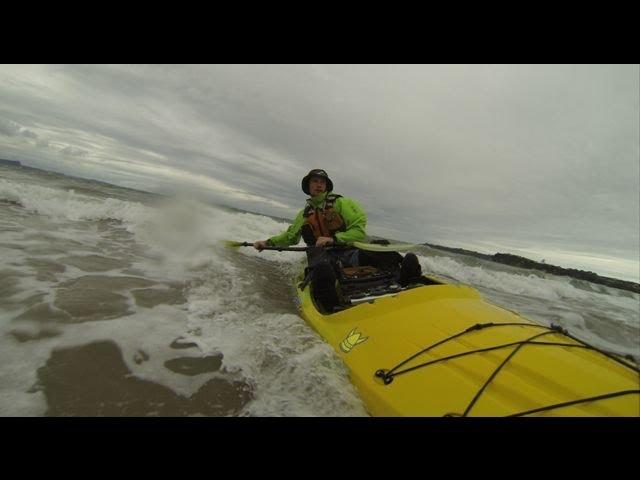 Viking Kayaks Profish Reload   Rough water trial