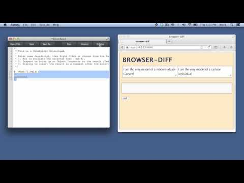 Firefox Developer Tools - Scratchpad - YT