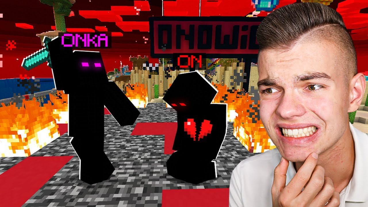 """Download ZRYWAM Z """"ON"""" jako """"ONKA"""" w Minecraft... (złamałem mu serce)"""