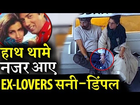 OMG: Sunny Deol and Dimple Kapadia spotted Holding hands!
