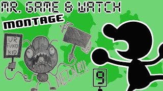 Mr. Game & Watch Montage - SSB4 Wii U