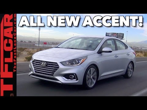 Is Cheap Always Cheerful 2018 Hyundai Accent First Drive Review
