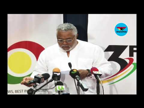 Full speech: JJ Rawlings on 'The Role of the Council of State: A Critical Assay'