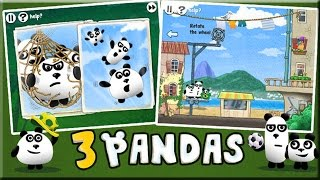 3 Pandas In Brazil Game Walkthrough (All Levels)