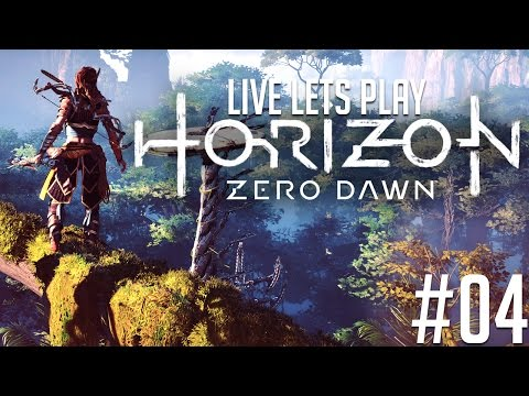 ✔️️ Horizon Zero Dawn Deutsch Live Let's Play [Schwer] #04 -