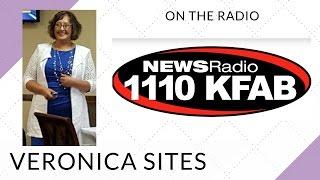 Live on the Radio in Omaha, Nebraska | Veronica Sites