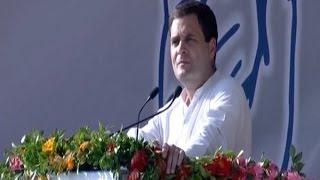 FULL SPEECH: Sahara gave money to PM Modi claims Rahul Gandhi in Mehsana