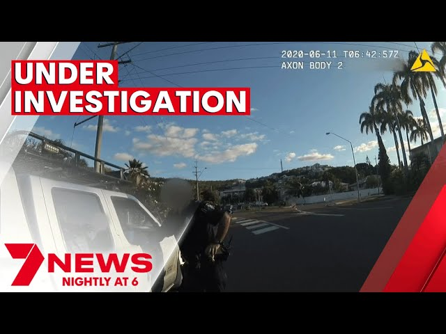 Queensland police officer allegedly turns a blind eye at routine traffic stop  | 7NEWS