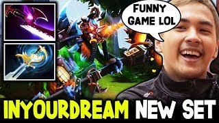 Inyourdreams - Trying Out New Cool Magnus Set LoL Funny Game Dota 2