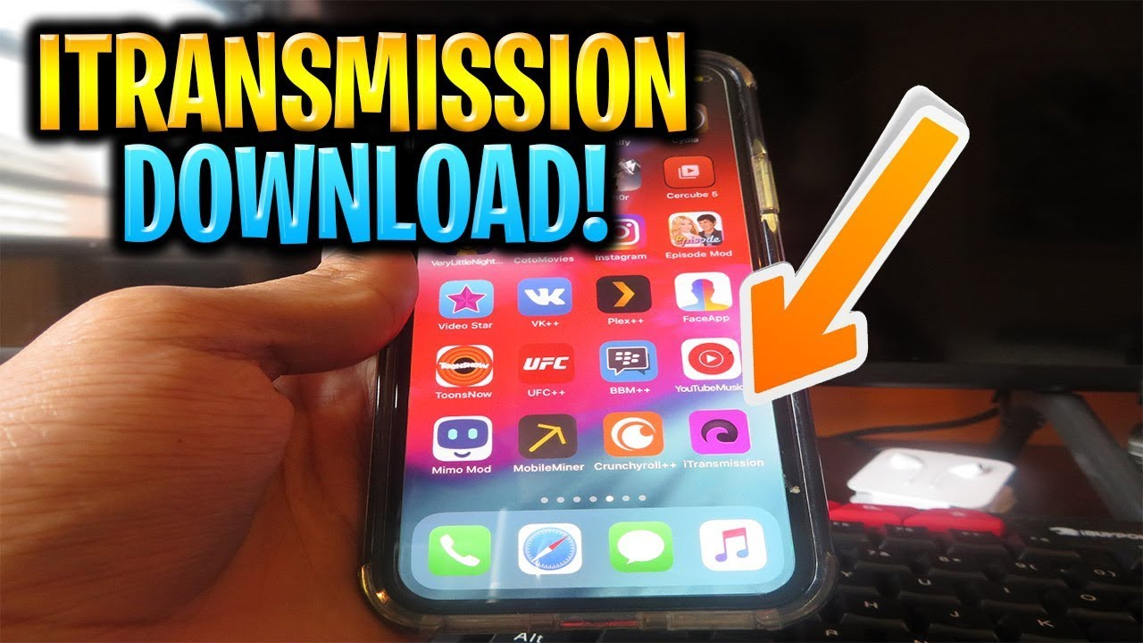 How to Install iTransmission on iPhone/iOS NO JAILBREAK ✅ How to Download  Torrents on iPhone