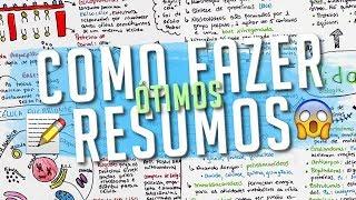 COMO FAZER RESUMOS (BONITOS E EFICIENTES)  | CHICLETE VIOLETA thumbnail