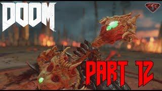 "DOOM Gameplay Walkthrough Part 12 ""The Crucible"" 1080p 60fps|Let"