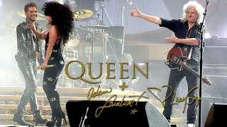 Queen + Adam Lambert & Lady Gaga - Another One Bites The Dust in Sydney day 2 (27/08/2014) HD