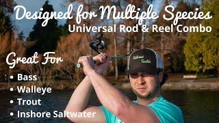 Multispecies Fishing Rod & Reel Combo - Tailored Tackle Fishing Kits & Combos