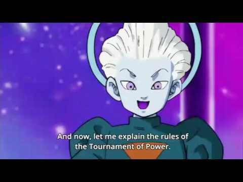 GRAND PRIEST explaining the rules of the TOURNAMENT OF POWER...