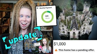 UPDATE! - Haunted House Hunting (Buying An Abandoned Victorian Mansion for $1,000)