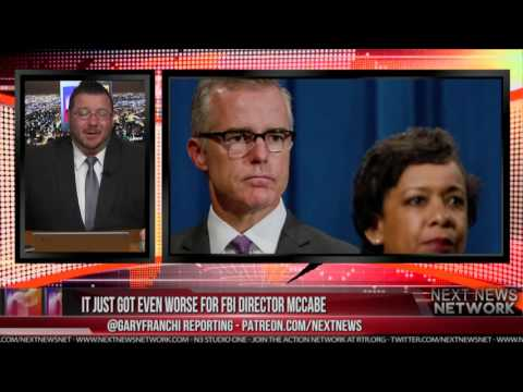 HAMMER DROP! IT JUST GOT EVEN WORSE FOR FBI DIRECTOR MCCABE!
