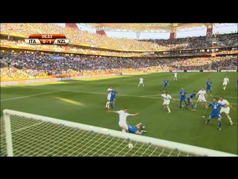 Fifa World Cup 2010 Italy - New Zealand 0 - 1 Goal by Smeltz