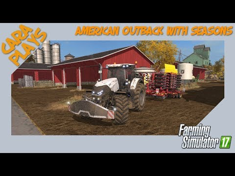 "FS17 American Outback with Seasons #02 ""Seeding grass"""