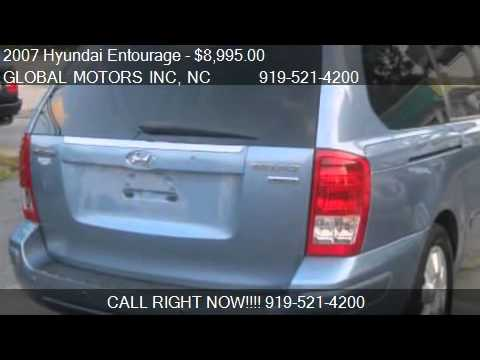 2007 hyundai entourage limited 4dr minivan for sale in